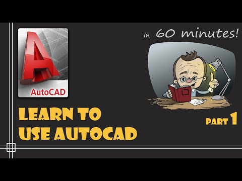 autocad---complete-tutorial-for-beginners---learn-to-use-autocad-in-60-minutes---part-1