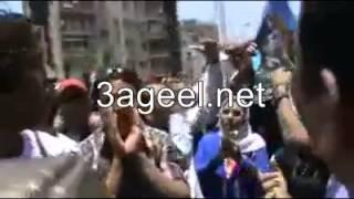 وصلة رقص بنات شارع الهرم 4 دقايق كاملين على أغنية بشرة خير