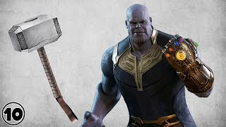 Can Thanos Lift Thor's Hammer?