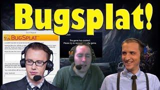 Bugsplat during SKT vs TSM game