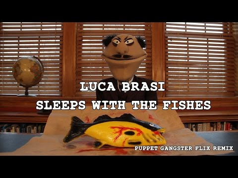 Luca Brasi Sleeps With The Fishes Godfather Puppet Parody Remix