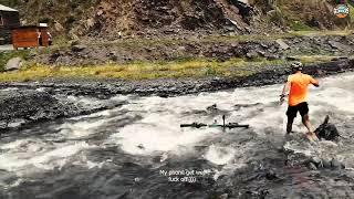 Never cross river with your phone in your pocket - არასდროს გადაკვეთო მდინარე ჯიბეში ტმობილურით