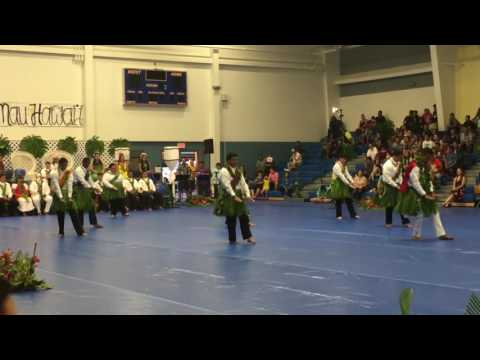Hilo High School 2015-2016 May Day Court Dance (Kāne)