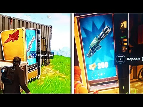 "ALL ""Vending Machine"" LOCATIONS in Fortnite! - NEW ""Vending Machine"" in Fortnite Battle Royale!"
