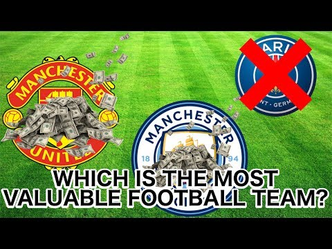 TOP 10 MOST VALUABLE FOOTBALL TEAMS IN THE WORLD!!!