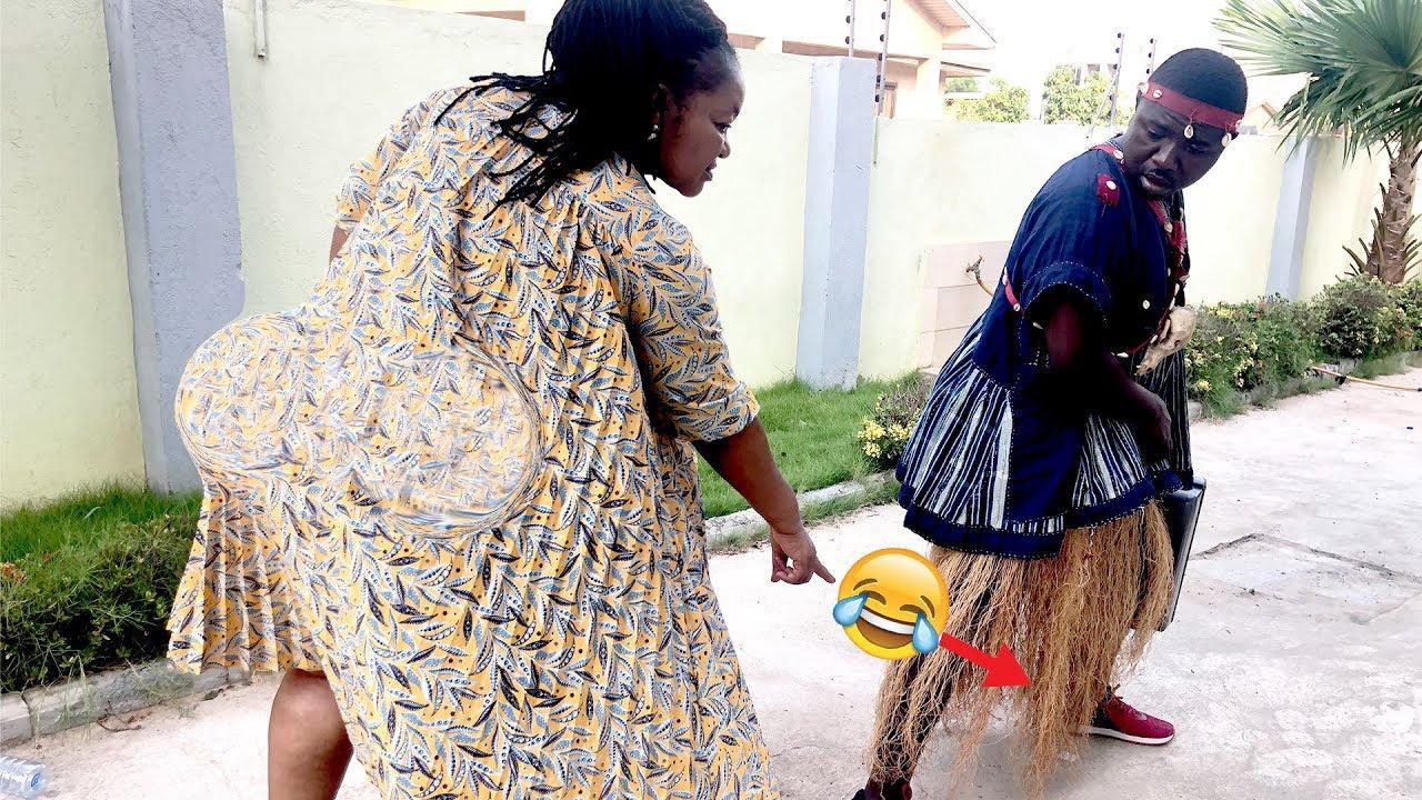 Download KOMFO DOOR TO DOOR MEETS CHRISTIANA AWUNI - EPISODE 9😂😂😂