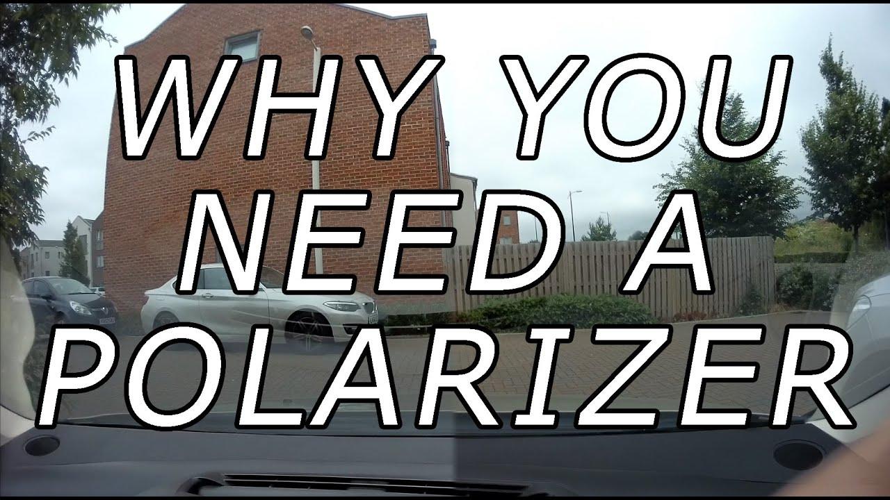 7 sekund, które pokaże ci, dlaczego potrzebujesz na swojej samochodowej kamerce folii polaryzacyjnej