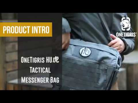 c593eb9a5a1f5 Product Intro  OneTigris HU虎 Tactical Messenger Bag - YouTube
