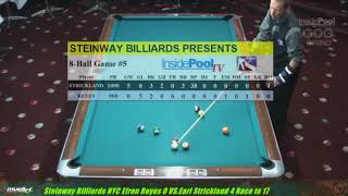 Remastered Earl Strickland V Efren Reyes  8-Ball The Battle of Legends on the 5x10