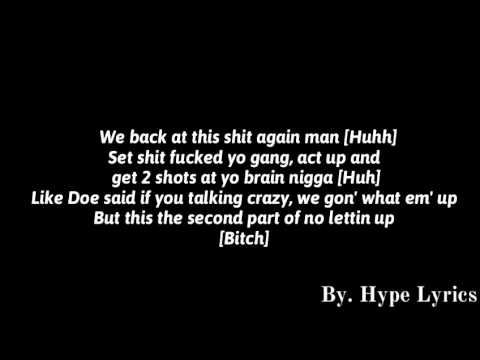 GMGB - No Letting Up Pt.2 (Lyrics)