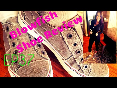 Best Looking Lace Less Shoes Ever. Blowfish Malibu Shoe Review. Madison's Cute Shirt Try Outs