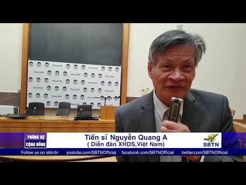 PHÓNG SỰ CỘNG ĐỒNG: Phỏng vấn tiến sĩ Nguyễn Quang A tại Forum 2000 ở Prague, Cộng Hoà Tiệp