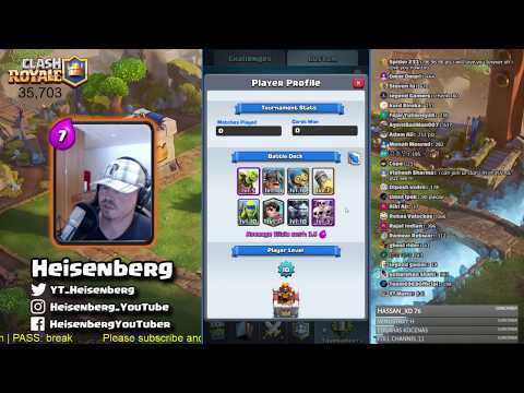 FREE 10000 GEMS TOURNEY - Heisenberg's BACK FROM BREAK STREAM