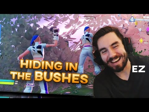 200IQ BUSH PLAY IN SCRIMS Fortnite Chapter 2 - Stream Highlights