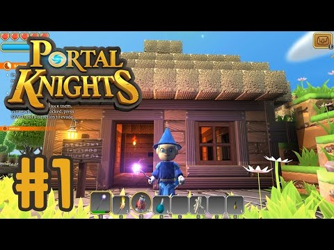 Let's Play Portal Knights!! - I'M A WIZARD!! | KID GAMING