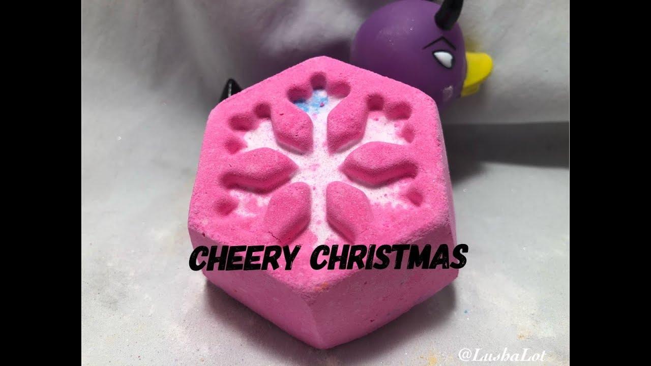 Christmas Bath Bombs.Lush Cheery Christmas 2018 Bath Bomb