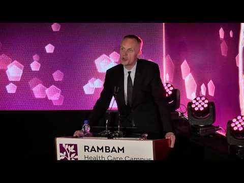 The Lancet Editor-in-Chief Gives Moving Acceptance Speech for the Rambam Award