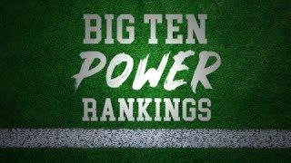 Big Ten Power Rankings Week 5