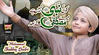 Muhammad Shahbaz Qadri || Koi Nabi Nahi Hai Mere Mustafa Ke Baad || New Naat 2020 || Heera Gold
