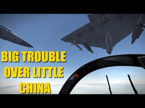 India China Campaign: Reapers See Heavy Action With CRAZY Dogfights | F-15 Mirage | DCS