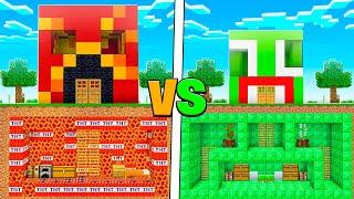 UNSPEAKABLE vs PRESTON UNDERGROUND BUILD BATTLE!