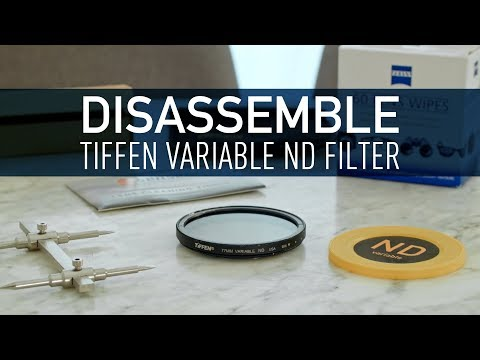 REPAIR YOUR TIFFEN VARIABLE ND FILTER