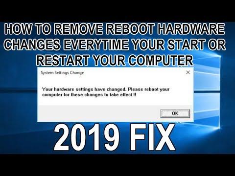 Cara Menghilangkan Your Hardware Settings Have Changed – Bisabo