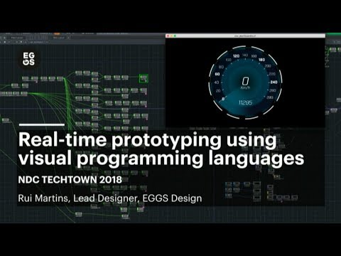 Real-time prototyping using visual programming languages - R