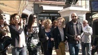 L'équipe du film « Des gens qui s'embrassent » se retrouve à Saint-Tropez - 24/03