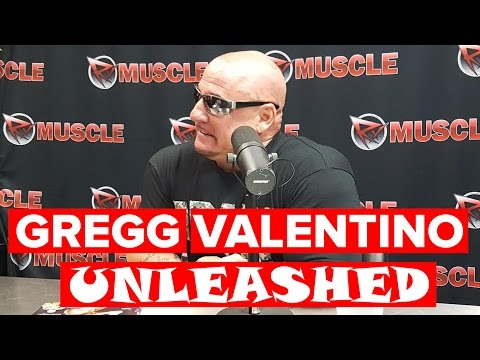 Gregg Valentino UNLEASHED : Live With on RXMuscle.com
