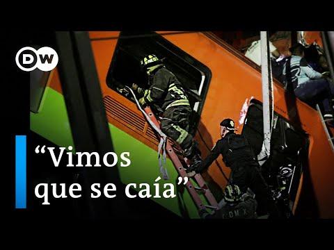 Trágico accidente en el metro de Ciudad de México