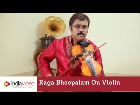 Raga Series - Raga Bhoopalam on Violin by Jayadevan