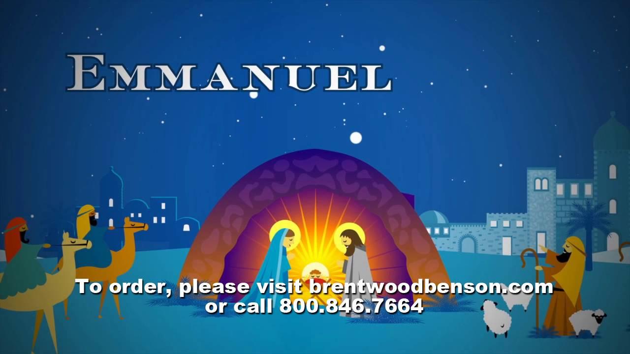 Emmanuel Opener (Lyric Video) | Jesus Means Christmas to Me [Simple ...