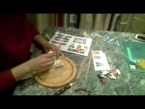 Как сделать топперы своими руками для капкейков