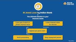 IB Jewel Loan by Indian Bank
