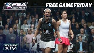 Squash: El Tayeb v King - Free Game Friday - Windy City Open 2018