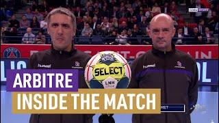 PSG/Chambéry en inside avec les arbitres