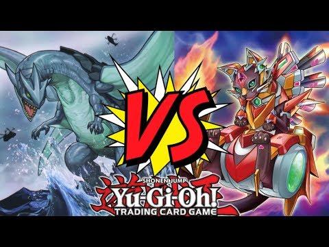 YUGIOH RANKED DUEL YvanDragho Salamangreat vs