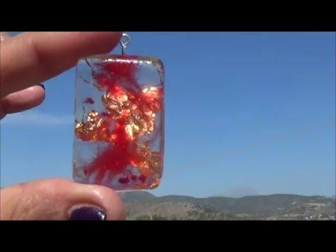 DIY faux stones-Resin and Decofoam_2/Φτιάχνω λίθους φο από υγρό γυαλί και Decofoam_2
