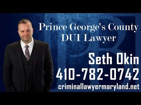 Accused of driving under the influence in Prince George's County? Contact Seth Okin today for a free consultation.