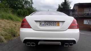 Mercedes S 500 AMG Optik Sound Exhaust