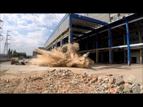 Tilbury Turbine Hall South - Explosive Demolition