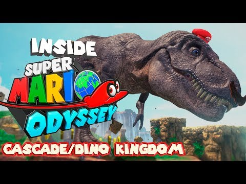 Inside Super Mario Odyssey - Cascade Kingdom (T-REX)