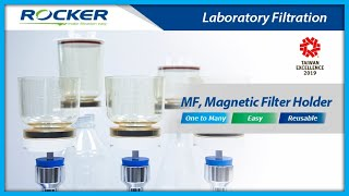 300mL 47mm MF Series Magnetic Filter Funnel with Lid Kit