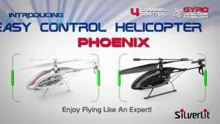Flying Toys Phoenix  4-Channel Easy Control Helicopter From Silverlit