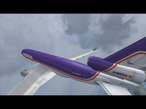 FSX | Let's Play Air Hauler Episode #91 - Another Bad MD-11 Landing  | MD-11