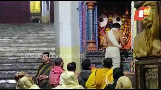 Patitapabana Alati Of Lord Jagannath From Srimandir In Puri