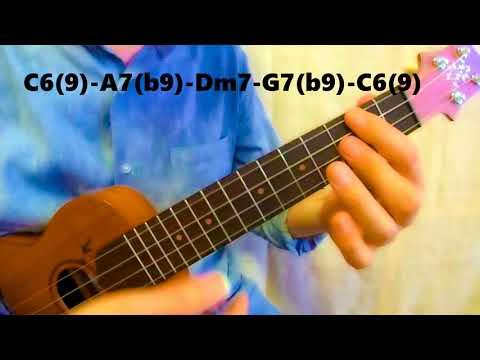 C6/9 Ukulele Chord - worshipchords