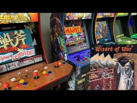WIZARD OF WOR - CHASING THAT HIGH SCORE!  Arcade1up Midway Legacy Gameplay from The 3rd Floor Arcade with Jason