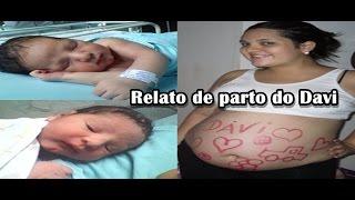 Repeat youtube video Relato de parto normal pelo SUS com 39 semanas
